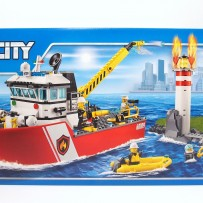 2016 City 60109 Fire Boat 消防船