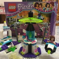 2017 LEGO Friends 41128 Amusement Park Space Ride